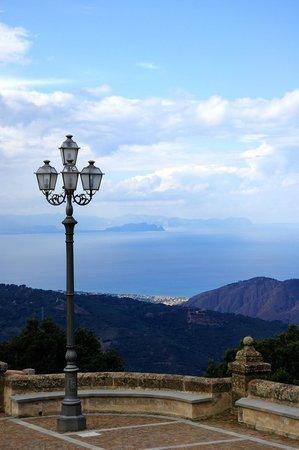 Santuario Gibilmanna: Panorama dal Santuario di Gibilmanna
