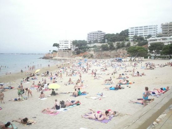 Playa Los Capellanes: пляж