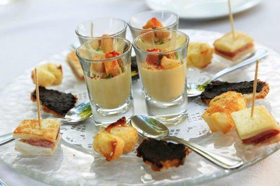 Le Chateau des Alpilles Restaurant : Une cuisine légère et délicate