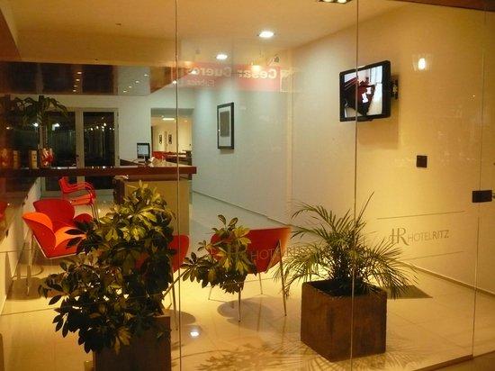 Hotel Ritz: Ingreso -recepcion
