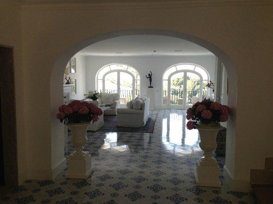 La Minerva: hotel lobby