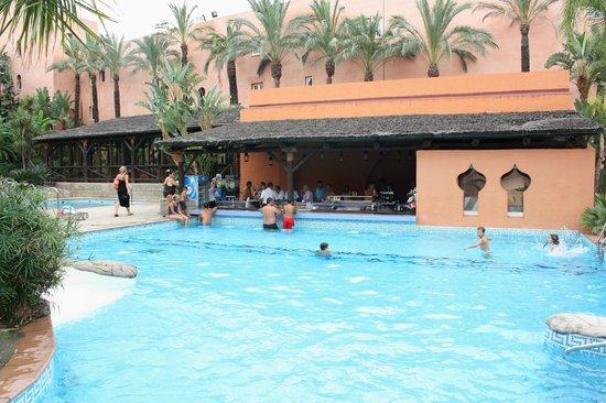 Playacalida Spa Hotel : Bar piscina