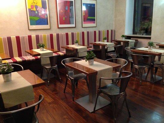 Hotel Colombia: Breakfast area