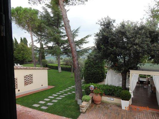 Villa I Barronci : Jardim 1