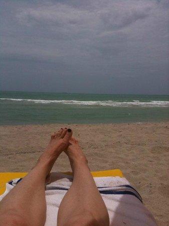 Westgate South Beach Oceanfront Resort: Enjoying the Sun