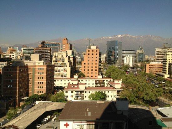 NH Collection Plaza Santiago : Vista desde la habitacion