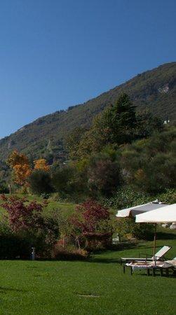 Lefay Resort & Spa Lago di Garda: Garden and hills