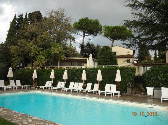 Villa I Barronci: Piscina