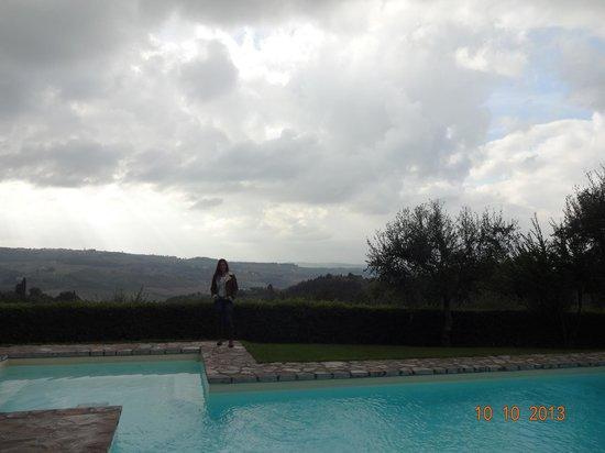 Villa I Barronci: Vista