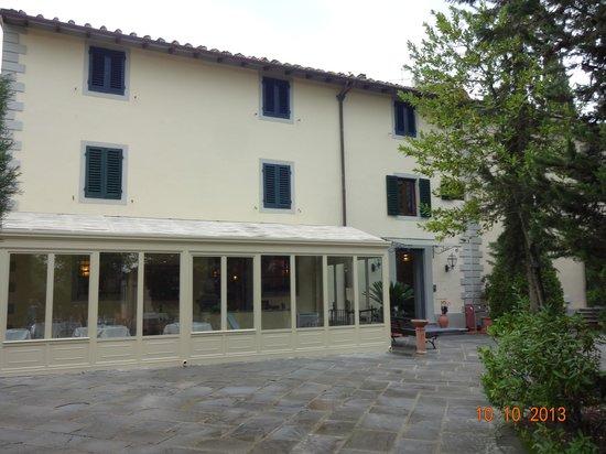Villa I Barronci: Fachada