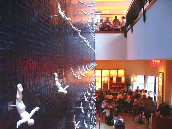 Rosa Mexicano - Lincoln Center: Waterwall