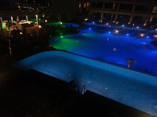 TUI SENSIMAR KALLISTON Resort & Spa by ATLANTICA: Pool view at night