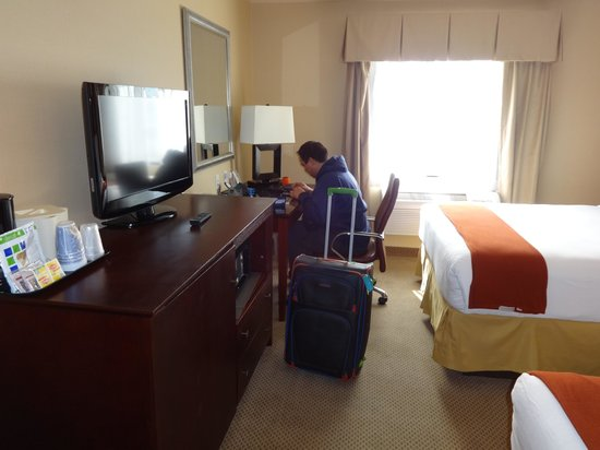 Holiday Inn Express Hotel & Suites Los Angeles Airport Hawthorne: pasillo