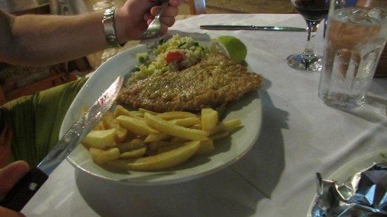 Restaurant Drosia: Schnitzel