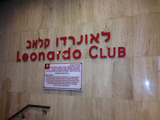 Leonardo Club Hotel Tiberias : hotel entrance
