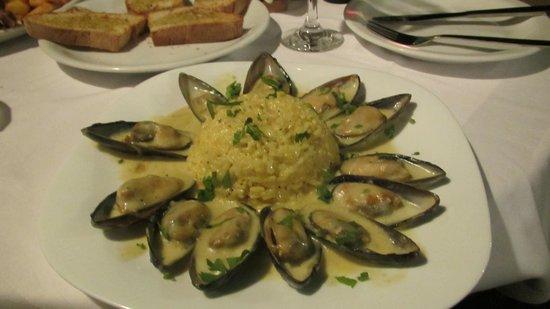Kyano Beach Restaurant : Muschels