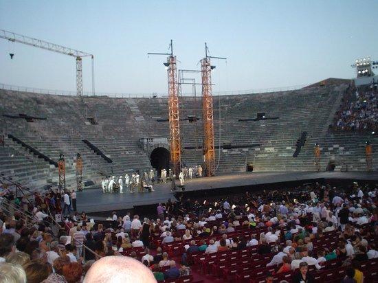 Arena di Verona: Аида на веронской Арене (03 августа 2013 года)