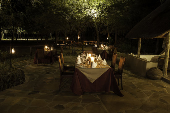 Dining Under The Stars Foto Di Etosha Aoba Lodge Parco Nazionale Di Etosha