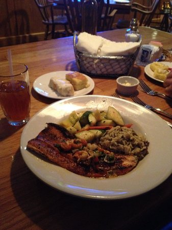 The Red Snapper : Trout