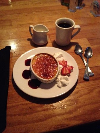 The Red Snapper: Creme brulee