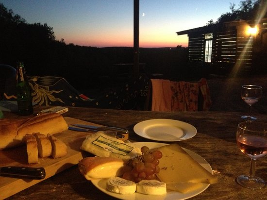 Pagel : cheese and wine at wisteria