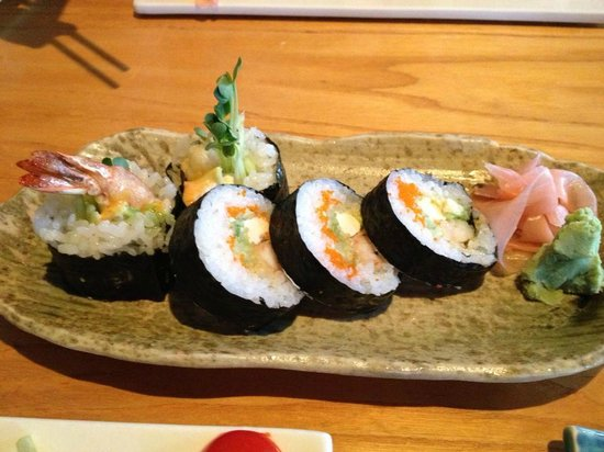 Mikado Japanese Restaurant: The roll they made me special, which was also yummy