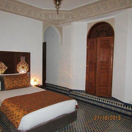 Riad el Amine Fes: Habitación donde nos alojamos en el 3er. piso