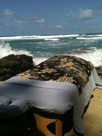 Aloha Massage Kauai: Beach Massage on a perfect day
