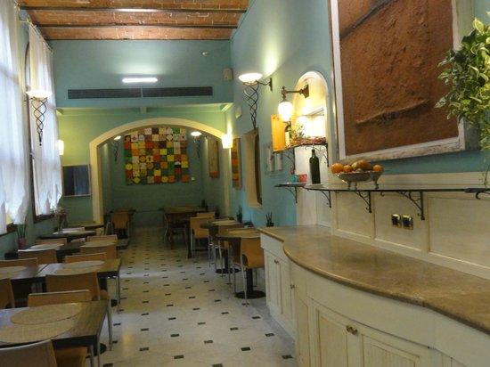 Il Guelfo Bianco: Breakfast area