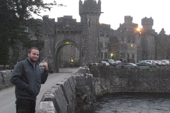 High tea at Ashford Castle