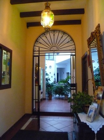 San Miguel: Hotel lobby