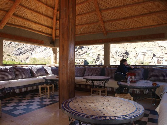 Kasbah Du Toubkal : a place to truly relax with jaw dropping views
