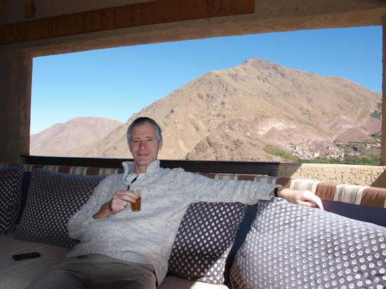 Kasbah Du Toubkal : open views all round and so easy to soak up tranquility