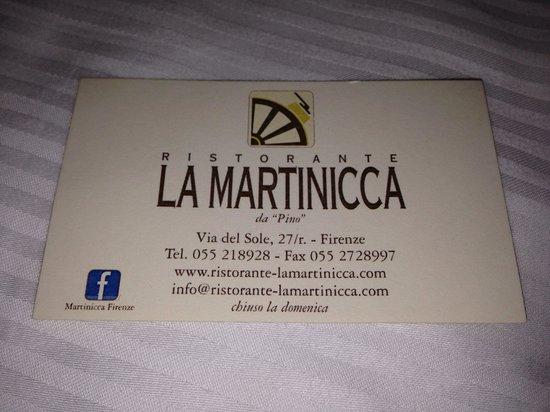 Datos de La Martinicca