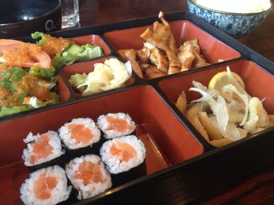 Kanpai Sushi: Lunch box