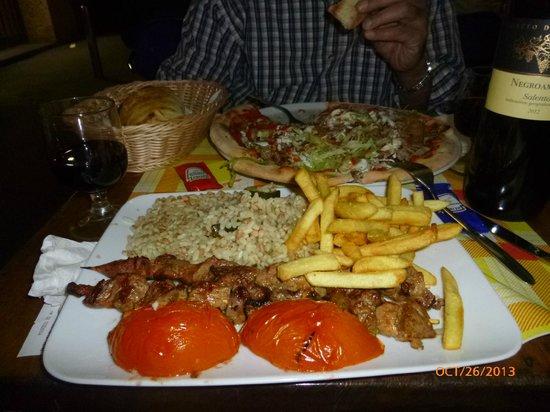 Blu Istanbul: Lamb dinner