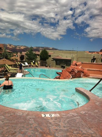 Sedona Summit Resort: hot tub & pool