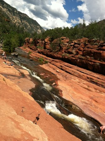 Sedona Summit Resort: Slide Rock