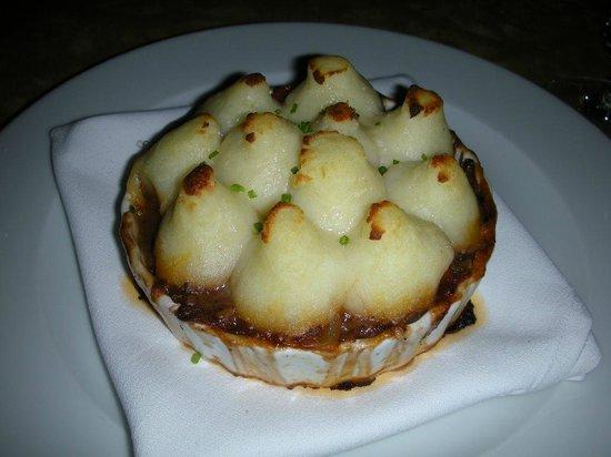 Swoon Kitchenbar: I believe this is Shepherd's pie.