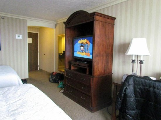 Galt House Hotel: part of the room