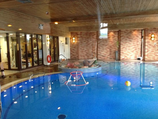 Scotland's Hotel & Spa: Inside pool area