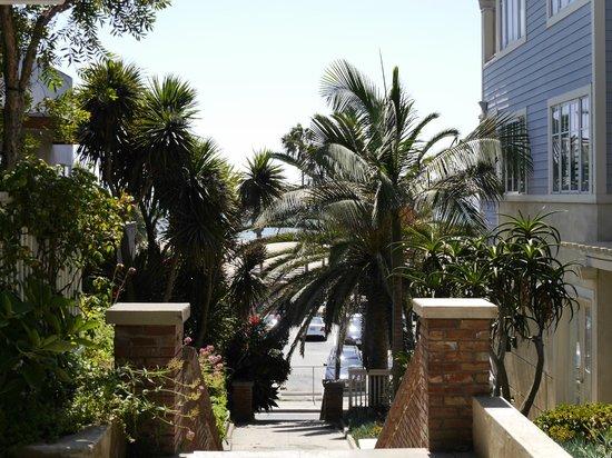 Seaview Hotel : Der Weg zum Strand