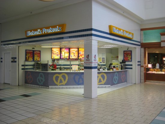 Wetzel 39 S Pretzels Northpark Mall W Kimberly Rd Picture Of Wetzel 3