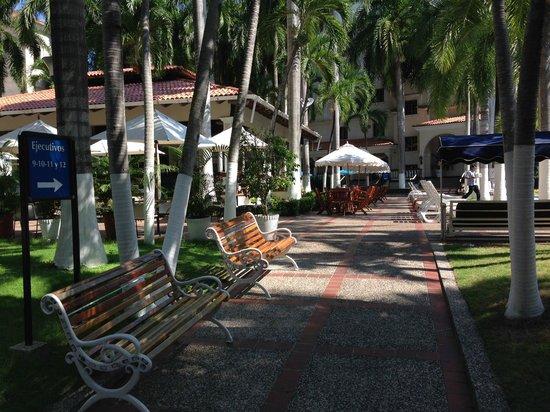 Hotel El Prado: Jardín interior