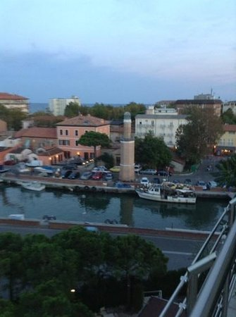 Hotel Franca : la vista del porto dal terrazzo