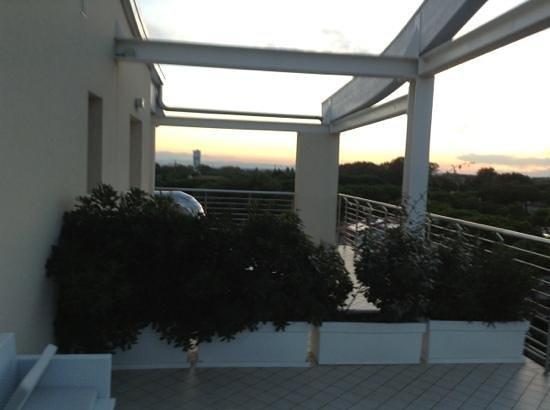 Hotel Franca : il mega terrazzo