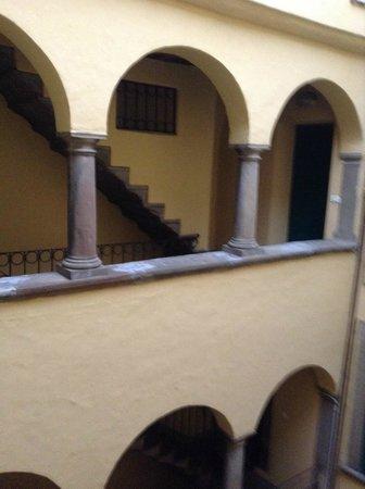 B&B Al Teatro Bergamo Alta: Лестница