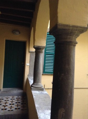 B&B Al Teatro Bergamo Alta: Вход в один из номеров
