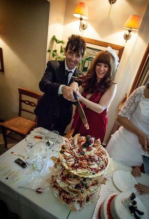 Ristorante Villa Paganini : La torta dello chef