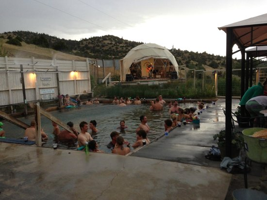 Everything you need and nothing more at Norris Hot Springs